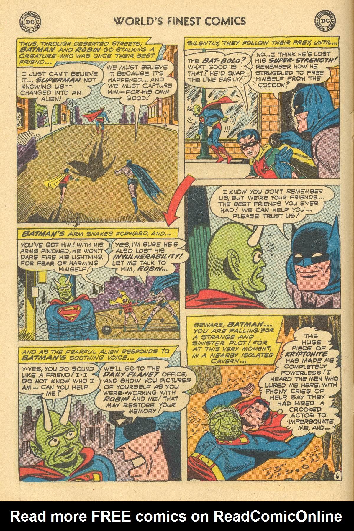 Read online World's Finest Comics comic -  Issue #105 - 8