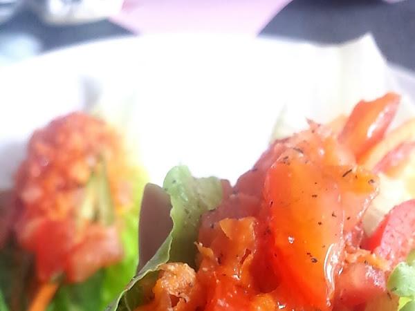 Spicy Taco Wraps |Raw|Vegan|Fodmap|