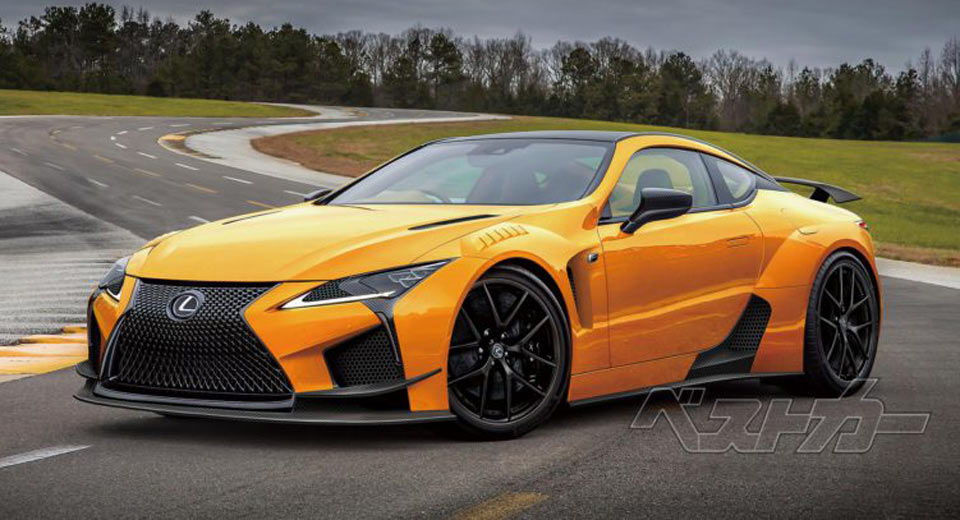 Lexus LC-F To Take The Fight To Nissan GT-R
