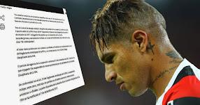 PAOLO GUERRERO: FIFA lo sanciona 1 año y se queda sin Mundial tras dar «positivo por el metabolito de la cocaína benzoilecgonina»