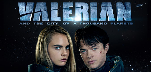 Rihanna Cara Delevigne Valerian movie