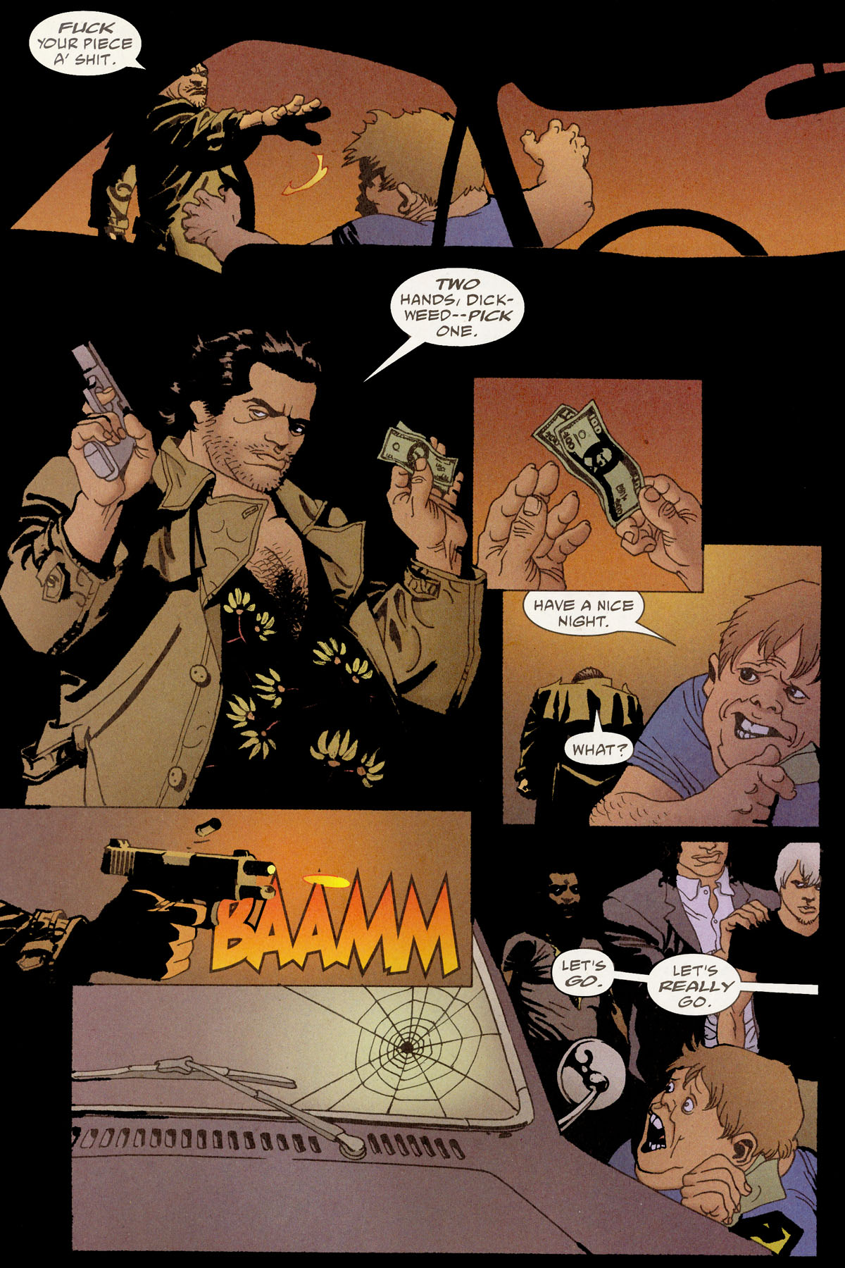 Read online 100 Bullets comic -  Issue #80 - 8