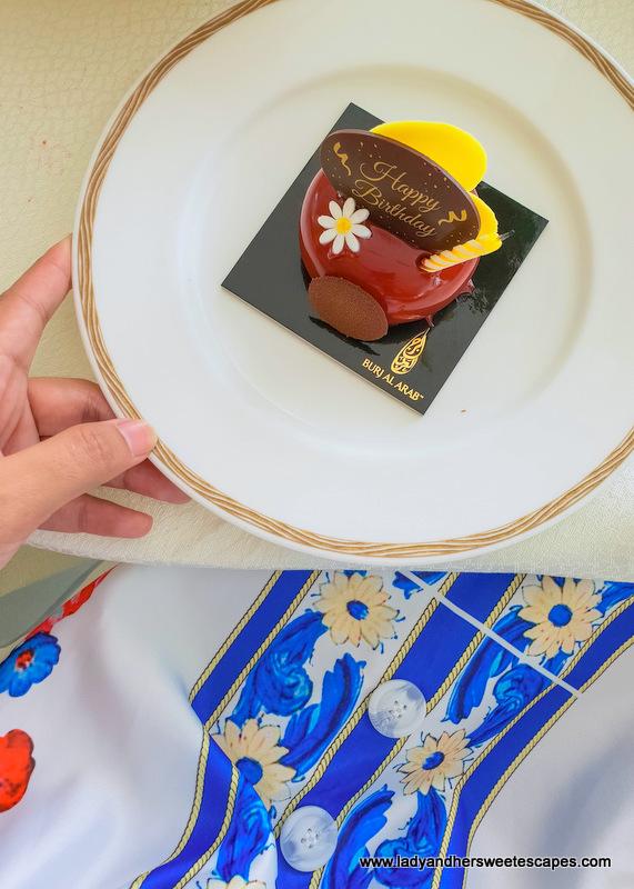 Birthday Cake from Burj Al Arab