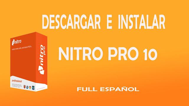 تحميل برنامج Nitro Professional10.5.7.32 النسخة الاخيرة مجانا لسنة 2016