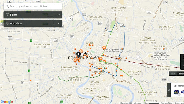 About BTS Bangkok Thailand Airport Map: The Chakri Group ...