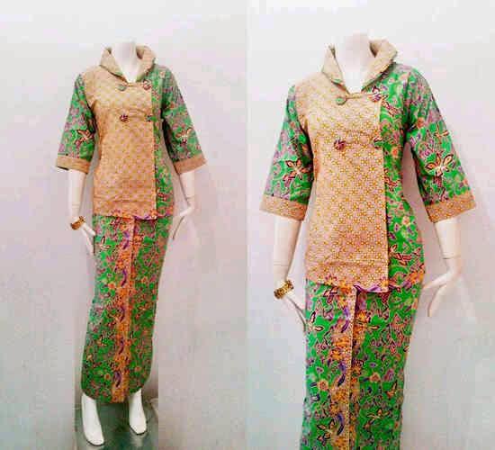Model Baju Batik setelan Jamela Series