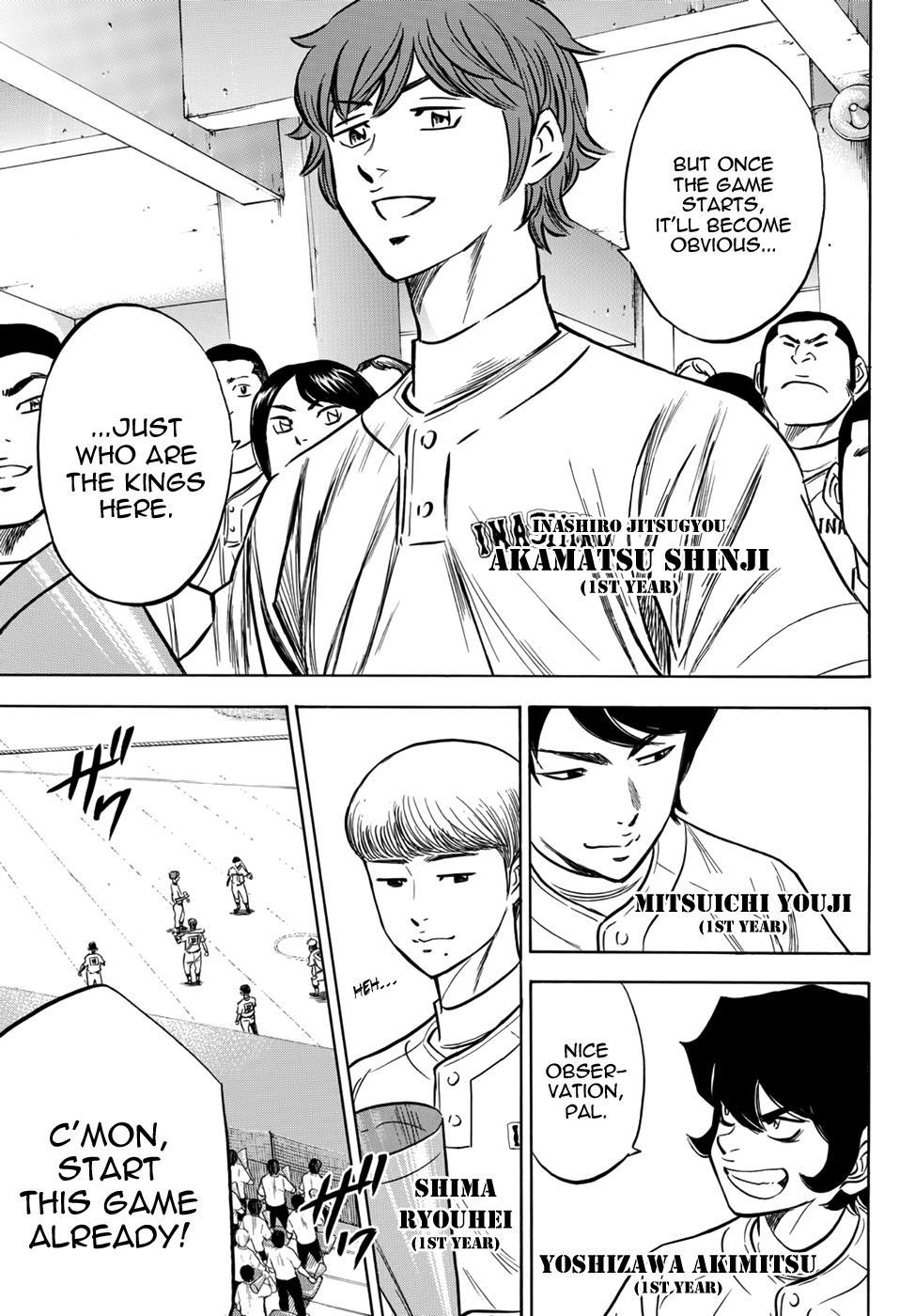 Daiya no A - Act II - Chapter 15