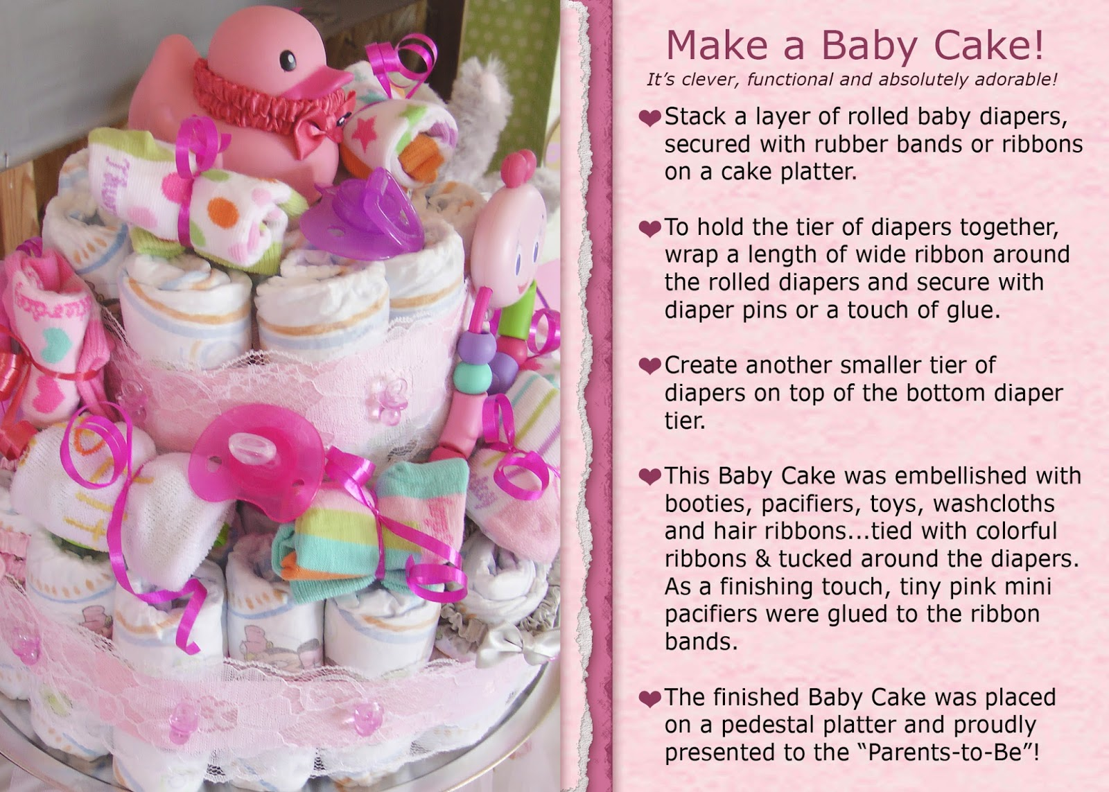 Annie Lang's Blog!: A Shabby Chic Baby Shower!
