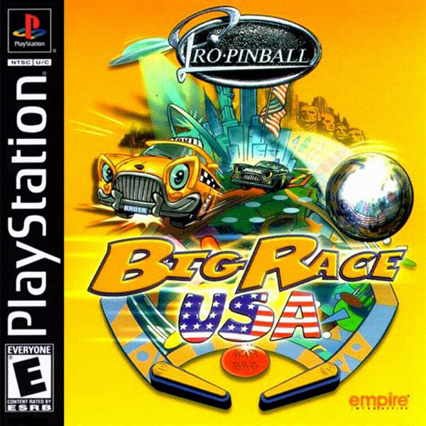 Pro Pinball - Big Race USA - PS1 - ISOs Download