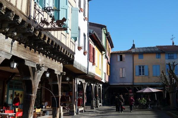 france ariège mirepoix cité médiévale
