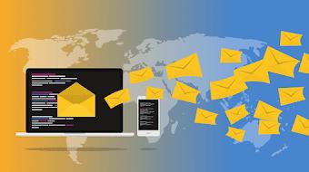 كيفية ارسال ملفات كبيرة  يصل حجمها 5 جيجا عن طريق البريد الإلكتروني