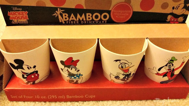 Vandor Bamboo Disney Mickey Mouse & Friends Cups