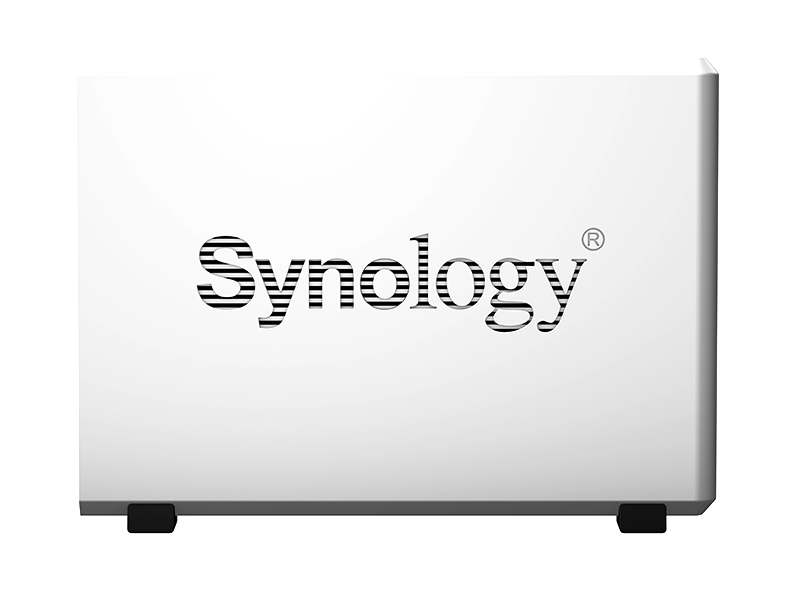 Synology Logo doubles as vents!