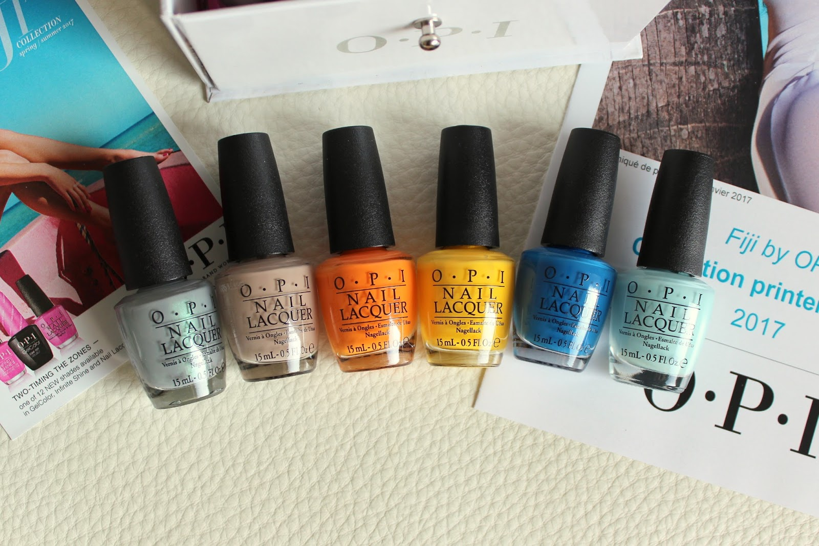Nail Polish │ OPI Fiji Collection for Spring-Summer 2017 [Swatches ...