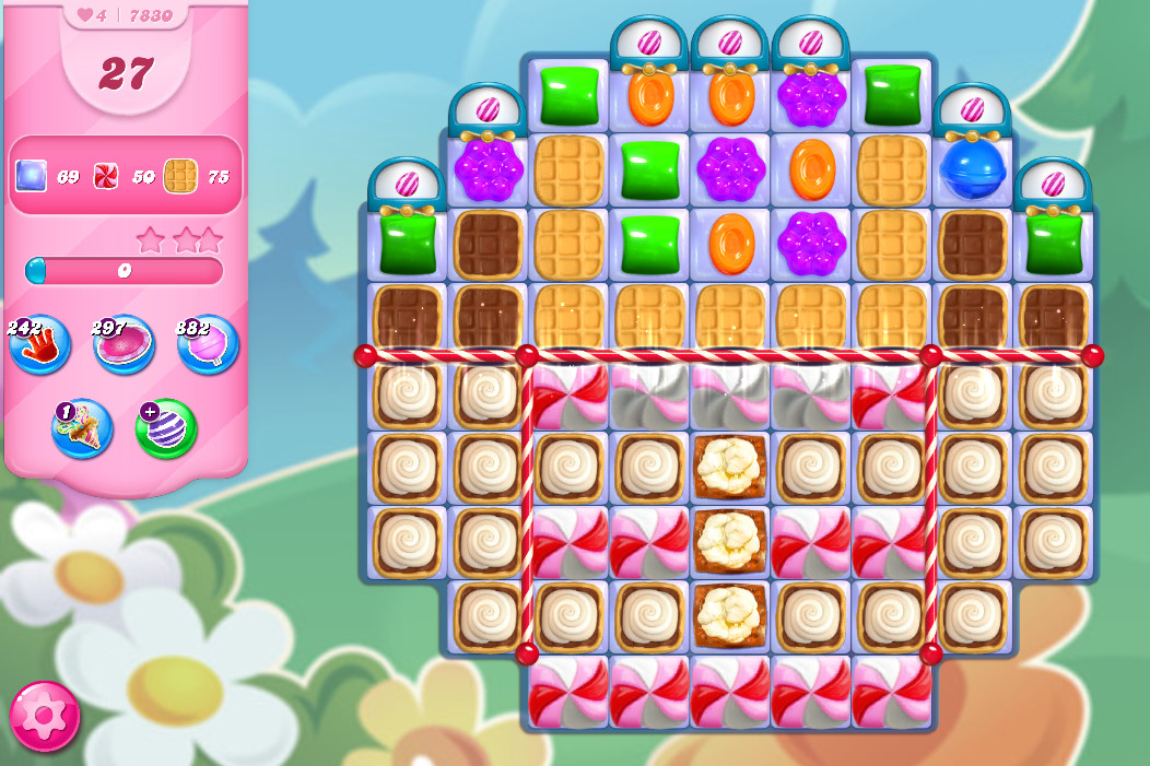 Candy Crush Saga level 7830