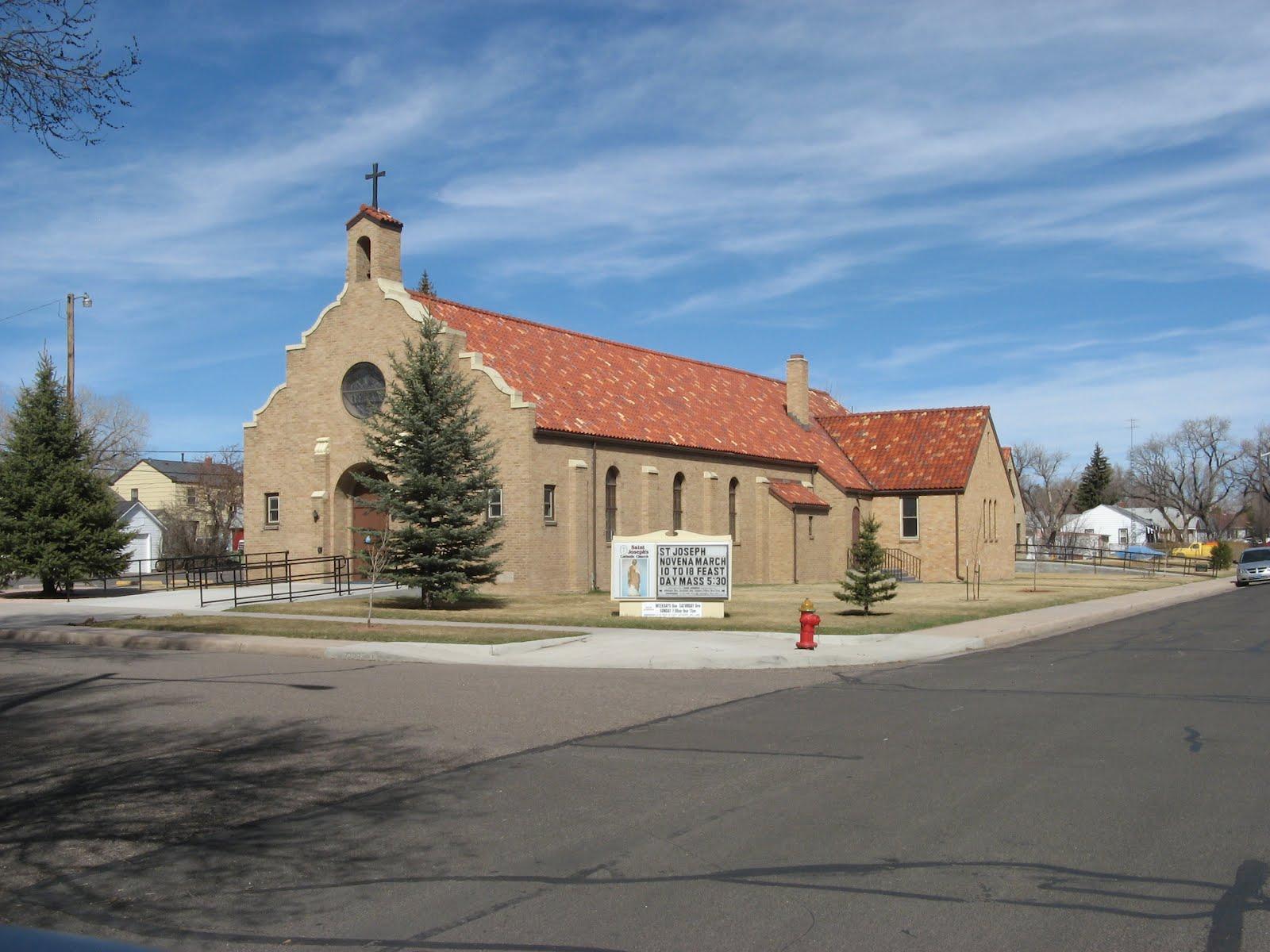Churches West Joseph Catholic Church Cheyenne