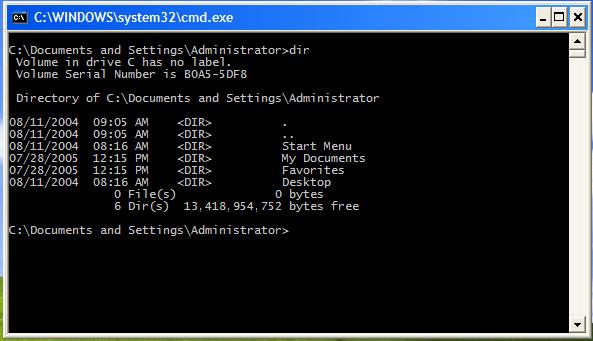 CMD Full Command List