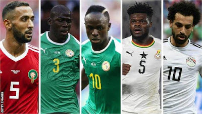 Nominees For 2018 BBC African Footballer Of The Year Award