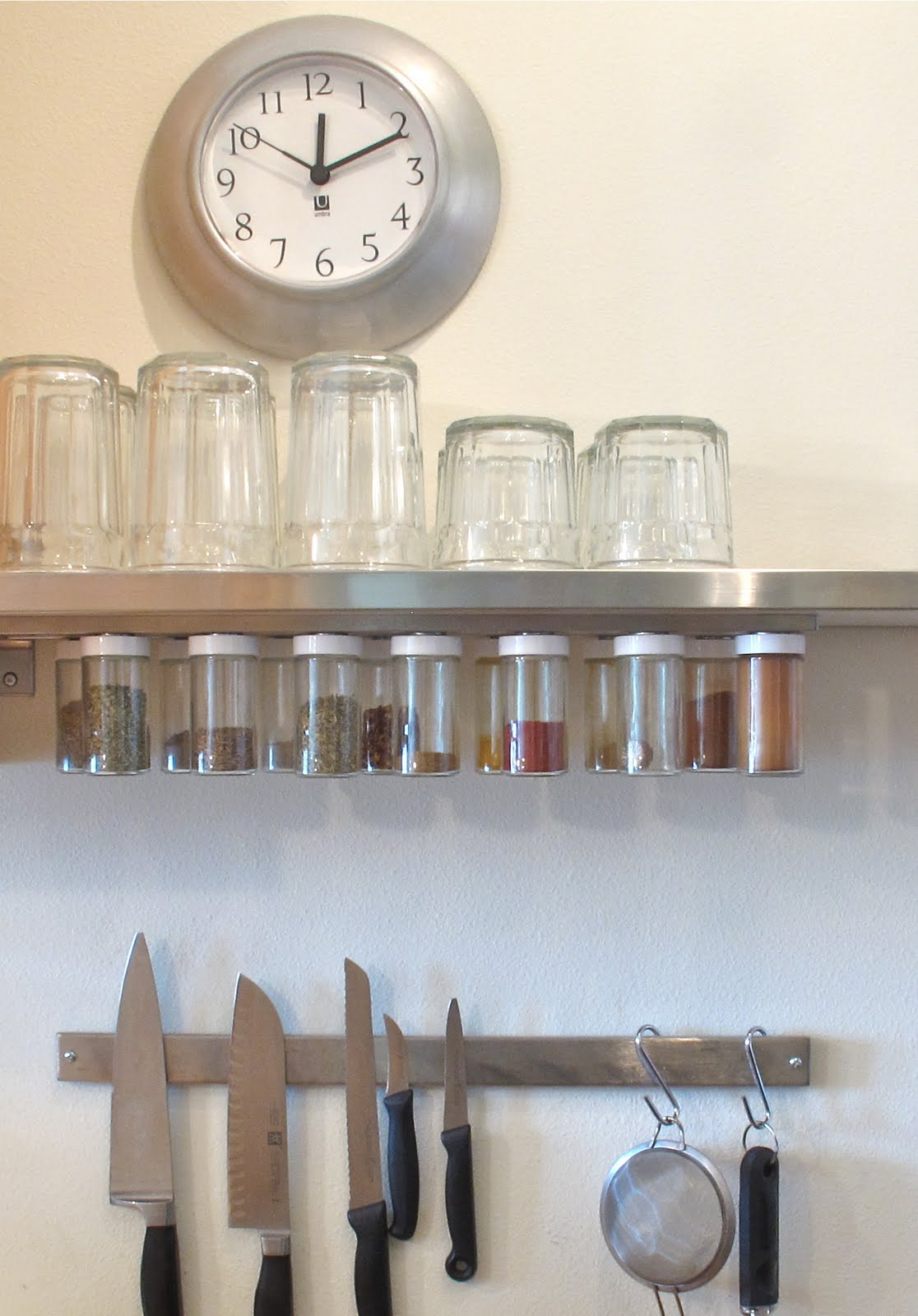 Blukatkraft Diy Hanging Magnetic Spice Rack Storage