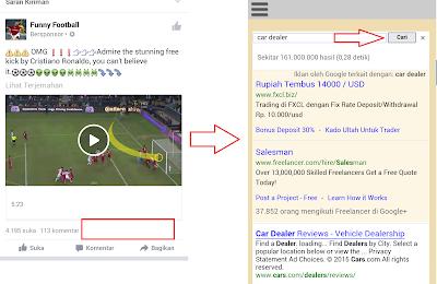 Modus ke Google Adsense