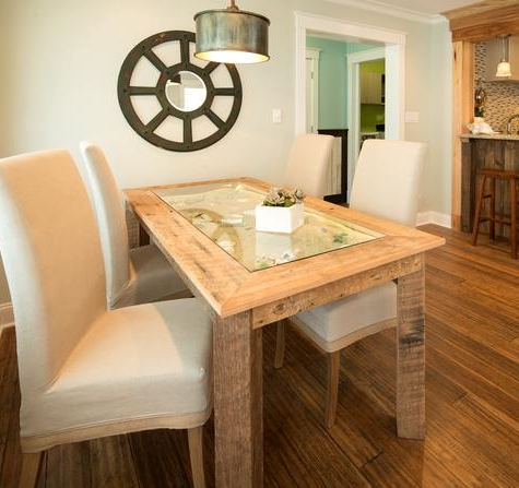 display wood dining table