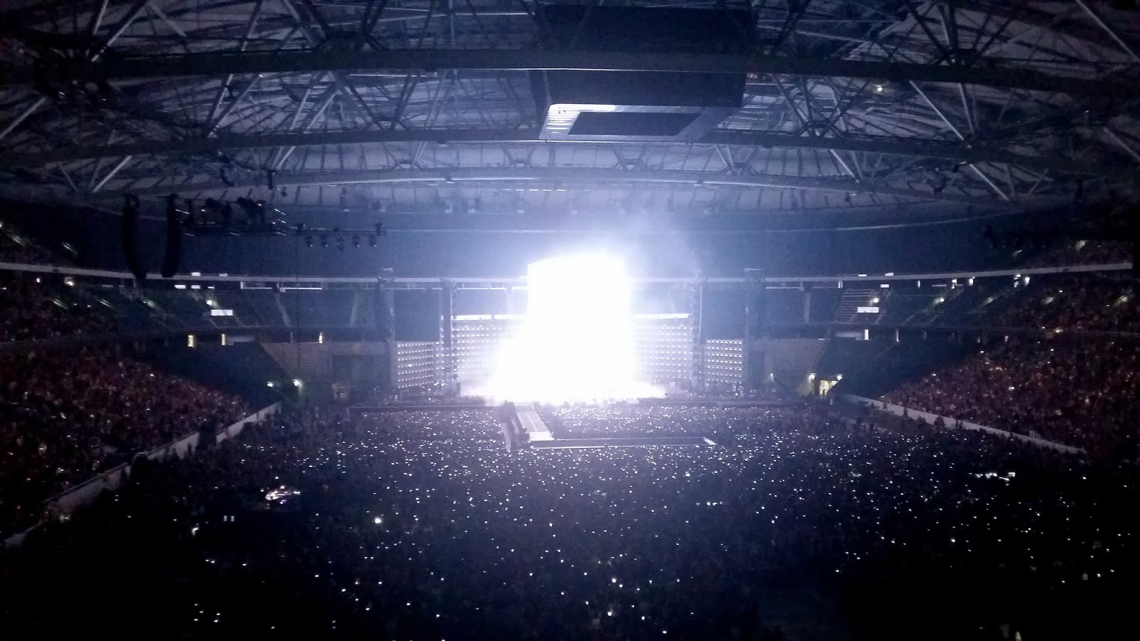 Friends arena beyonce
