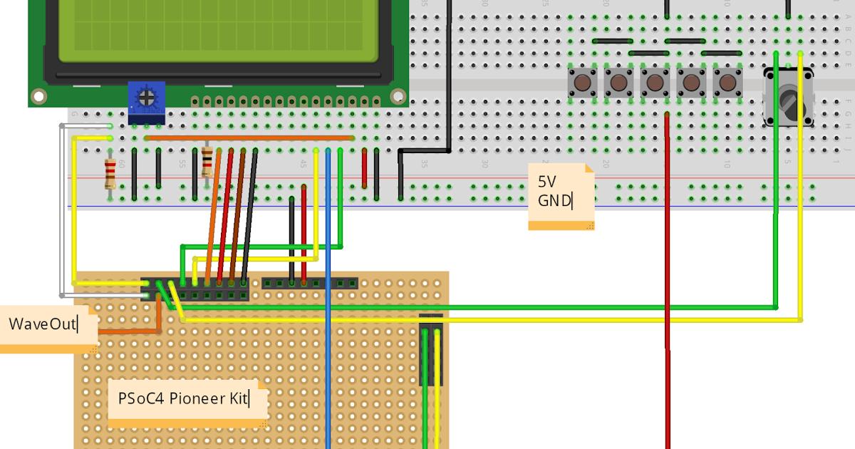 音源とオーディオの電子工作(予定) arduino unoをシーケンサーにしてpsoc dcoを制御する。