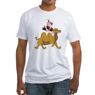 Camel Rodeo Santa