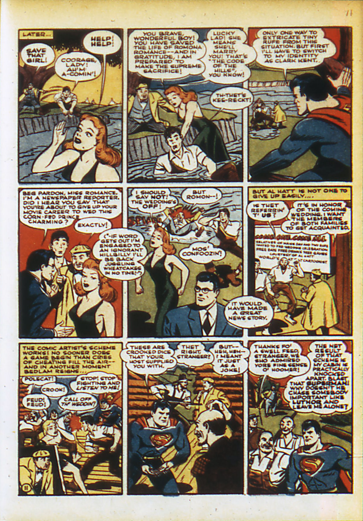 Read online Action Comics (1938) comic -  Issue #55 - 14