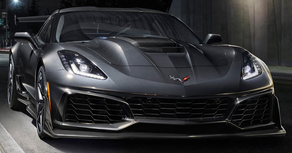 2019 Corvette Zr1 Unveiled With 755 Hp 210 Mph Top Speed