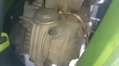 cara membersihkan kerak blok mesin segala motor