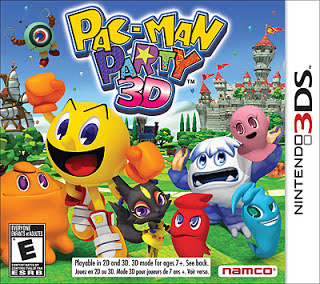 Pac-man Party 3D 3DS, Español, Mega