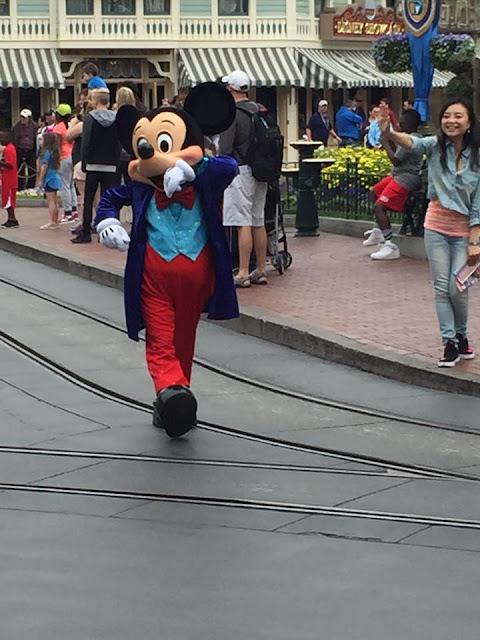 Visite du parc Disneyland Anaheim