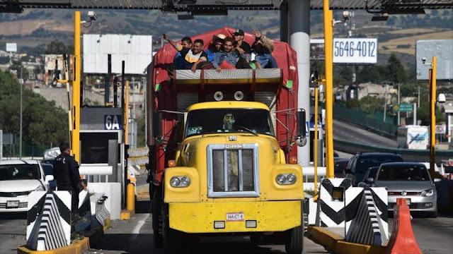 Migrantes siguen su camino hacia EEUU pese a amenaza de Trump