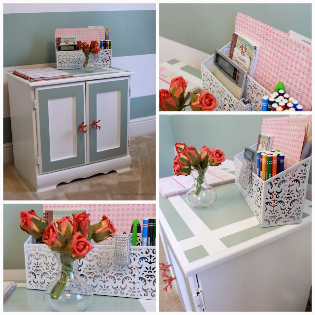 O Is For Organize A Renovated Cabinet