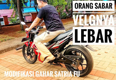 Modifikasi Motor, Suzuki Satria FU Modifikasi, Suzuki Satria FU