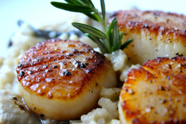 Pan seared scallops | sheeats.ca