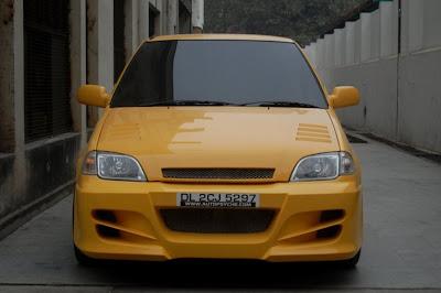 suzuki esteem kuning 1996 modifikasi
