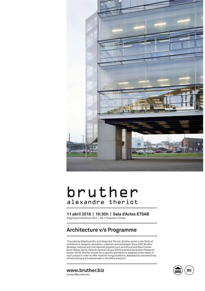 Bak architecture v s programme bruther etsab - Despacho arquitectura barcelona ...