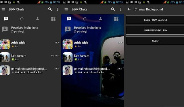 BBM Mod Change Background Apk
