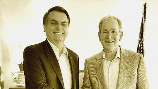 """Bolsonaro pide a George W Bush """"evitar"""" el regreso de Kirchner al poder en Argentina"""