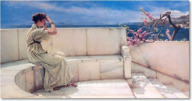 Expetctations- By Sir Lawrence Alma-Tadema
