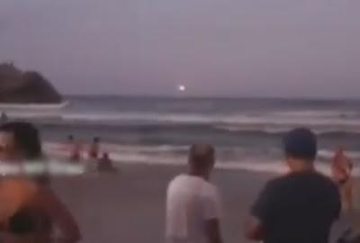Ufo em em Florianópolis? Clarão misterioso visto no litoral mobiliza bombeiros