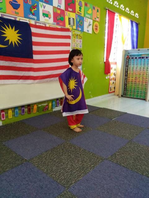 DHIA SAMBUT HARI KEBANGSAAN 2018 DI TABIKA KEMAS, Hari Merdeka, Hari Kebangsaan, Malaysia, HARI KEMERDEKAAN yang ke-61