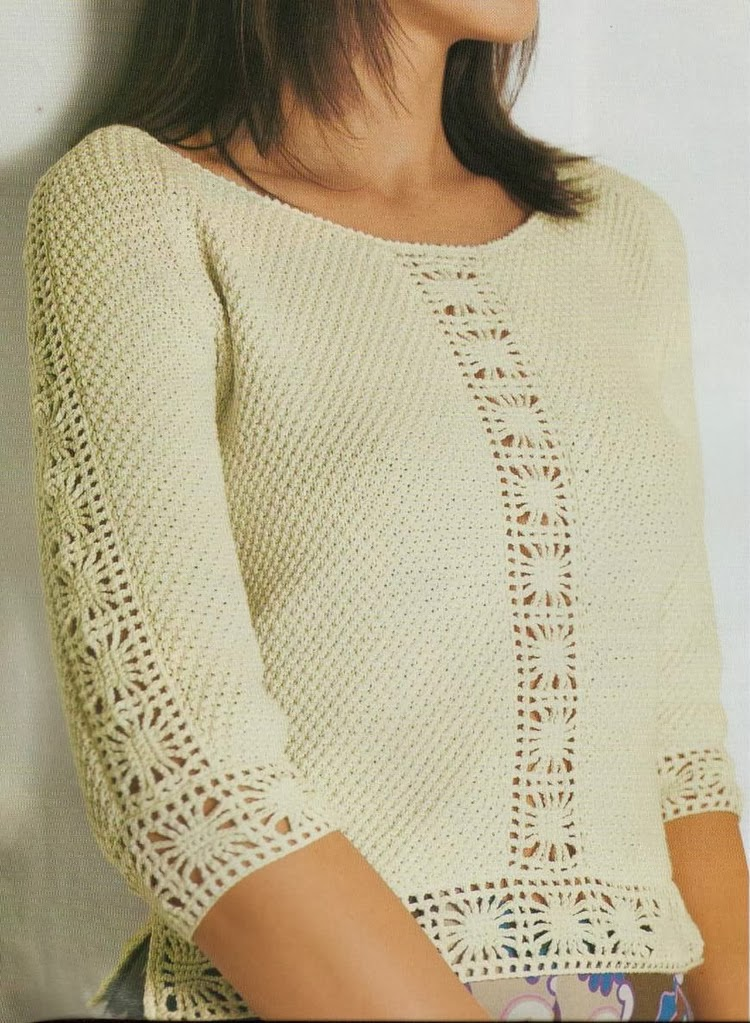 Blouses Patterns Knitting And Crochet
