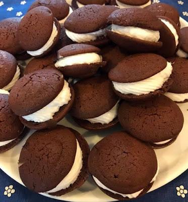 Chocolate Marshmallow Whoopie Pies