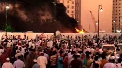 Bom Meledak di Dekat Masjid Nabawi