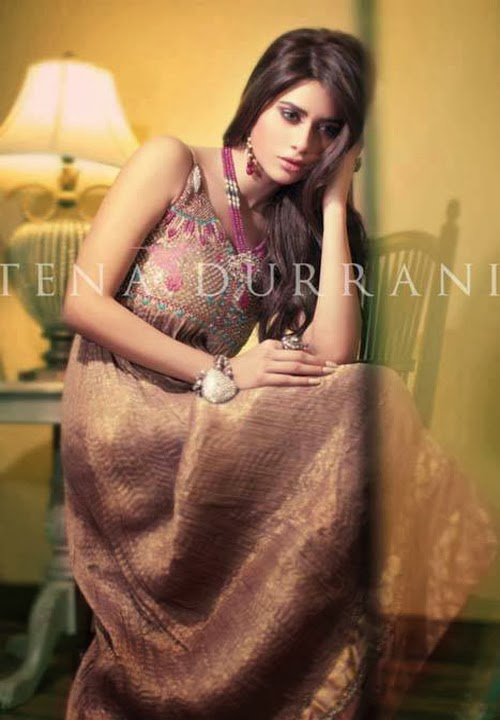 Latest Bridal Dresses Collection 2014-2015 By Tena Durrani