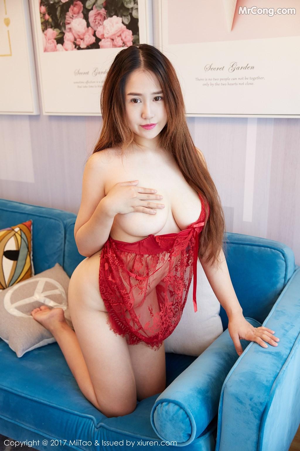 Image MiiTao-Vol.078-Tao-Zi-MrCong.com-009 in post MiiTao Vol.078: Người mẫu Tao Zi (桃子) (52 ảnh)