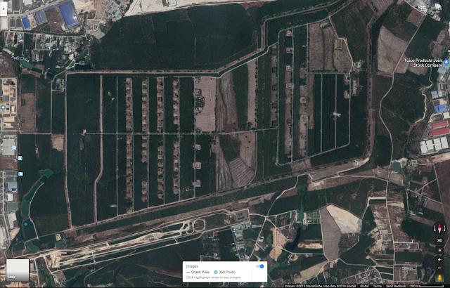 VỊ trí kho hiện tại trên bản đồ google maps